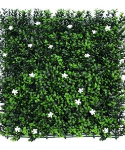 ZD-40 Deluxe Buxus Panels With White Flowers